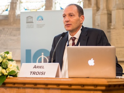 Paris, 3-July-2019: Ariel Hernán Troisi was elected as the new IOC Chair of IOC/UNESCO