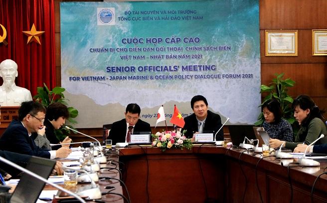 Tổng cục Biển và Hải đảo Việt Nam chuẩn bị cho diễn đàn đối thoại chính sách biển Việt Nam - Nhật Bản năm 2021