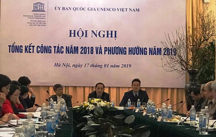 Tổng kết hoạt động của Ủy ban Quốc gia UNESCO tại Việt Năm năm 2018 và định hướng công tác năm 2019